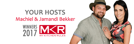 About Jamandi & Machiel Bekker | The Lekker Bekkers